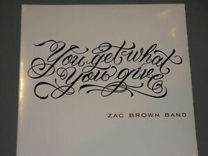 Zac Brown Band You Get What You Give 2lp Gatefold New