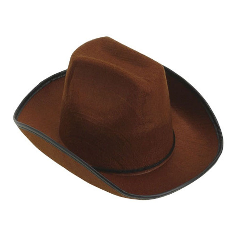Child Cowboy Cowgirl Red Brown Hat Toy Story Jessie Woody Western Costume