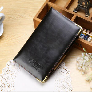Best business card holders ebay bluboon business card holder book pu leather 240 name cards organizer colourmoves
