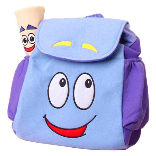 Dora The Explorer Nylon// Plush Backpack School Bag Map Doll Birthday Xmas Gift