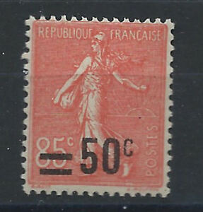 France-N-221-MNH-1926-Semeuse-surcharges