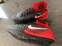 Sportssko, Nike magista, str. 38,5, Rød og sort