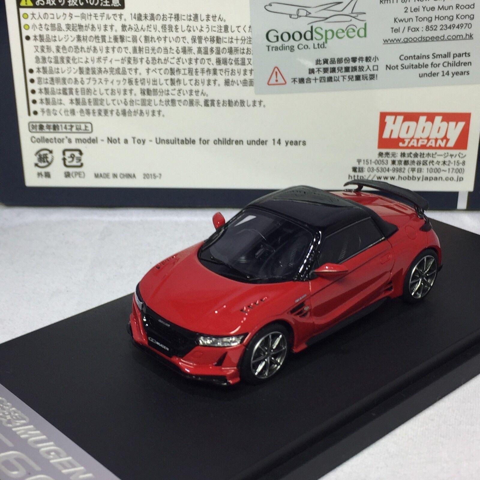1 43 Mark43 Honda MUGEN S660 Flame Red PM4331MR