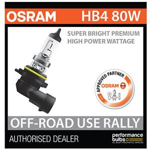 NEW-69006SBP-OSRAM-HB4-9006-80W-SUPER-BRIGHT-PREMIUM-OFF-ROAD-RALLY-BULB-x1