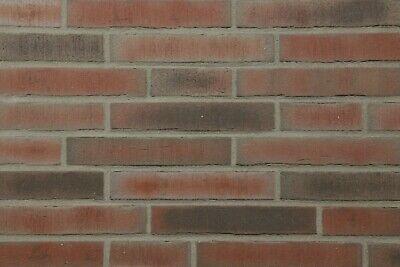 Rot-bunt Rustikal Aufrichtig Klinker-riemchen 1 Sorte Eine VollstäNdige Palette Von Spezifikationen Ldf-format