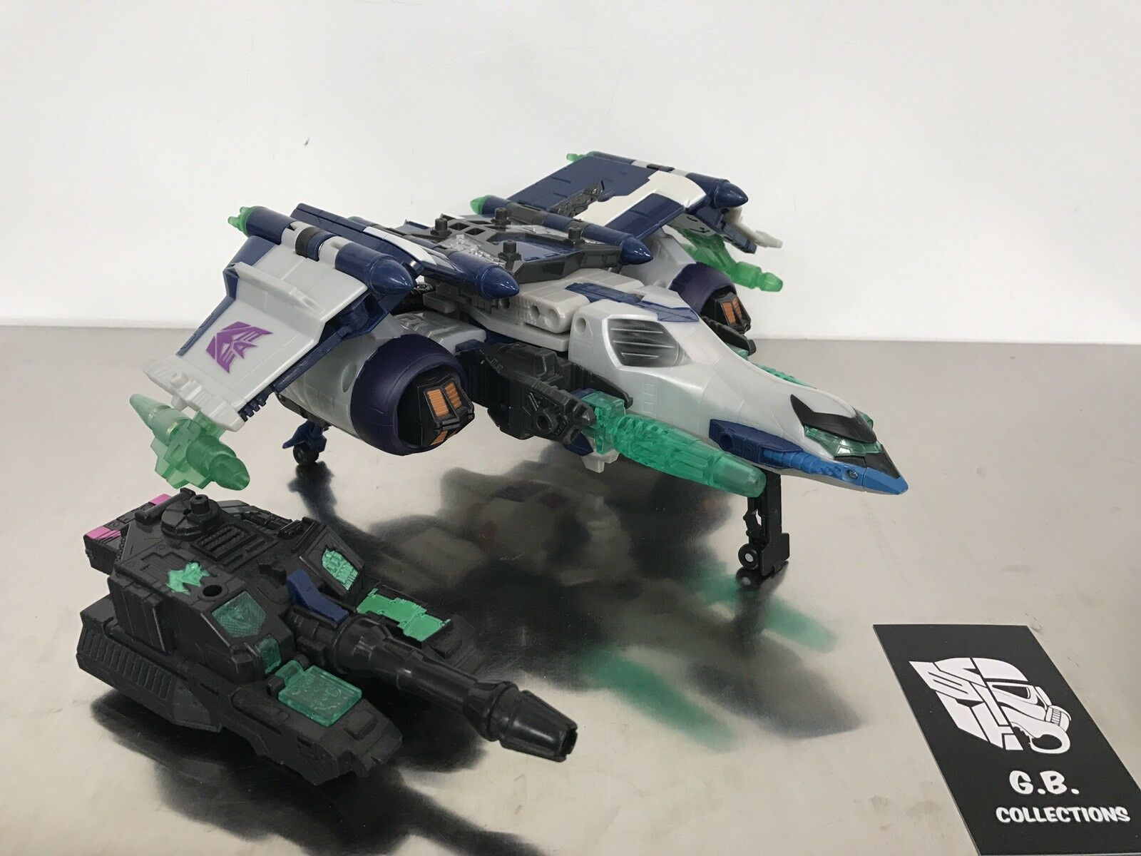 Transformers Energon Megatron Leader Class 99% Complete