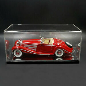 Dustproof Acrylic Display Case Diecast Cars Toys Model Protective Cube Case