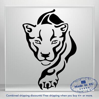 """VIP Luxury"" Lion Funny Car Truck SUV Sticker Bumper Window Creative Decal Top"
