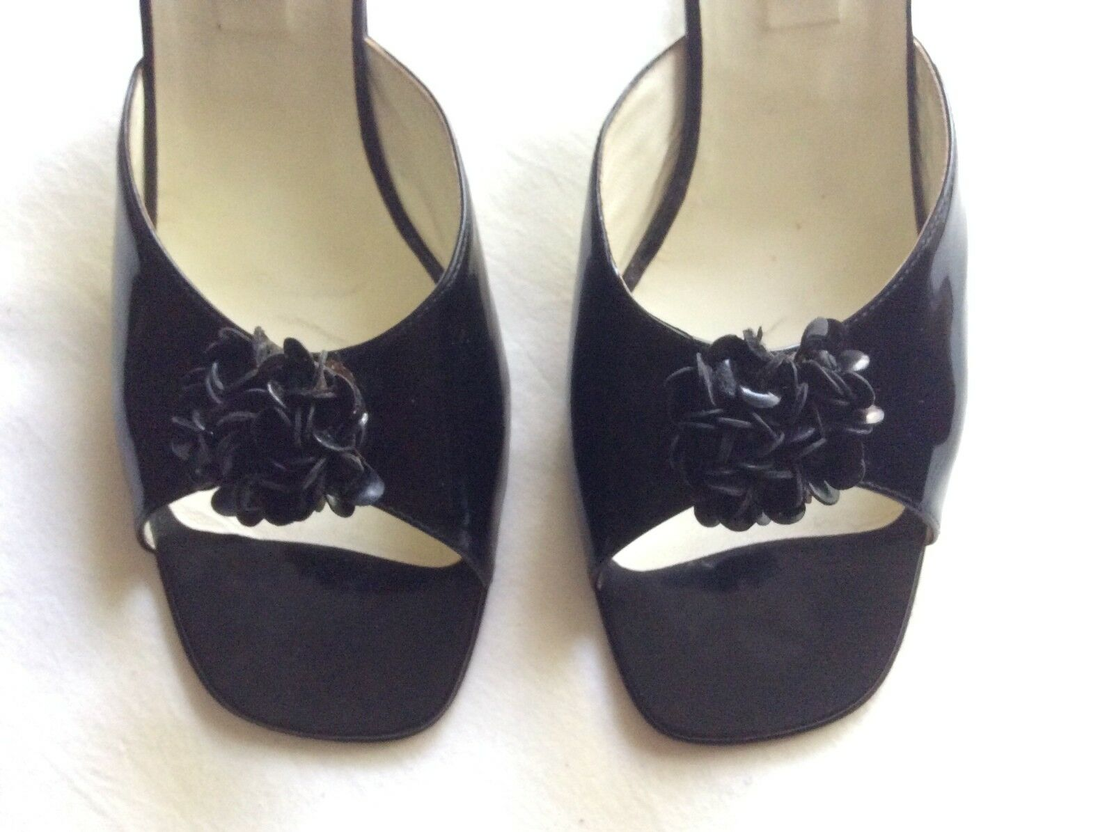 Pre Owned (hardly worn) MARIO PROLOGUA for Fortnum & Mason Mules/slippers Größe40