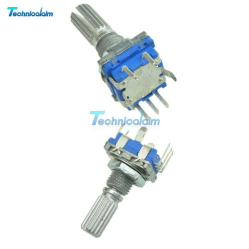 1//2//5//10PCS 20mm Rotary Encoder with Switch EC11 Audio Potentiometer handle