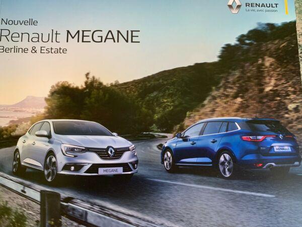 Accurato New Catalogue Brochure Katalogprospekt Renault Megane Estate 44 Pages Annee 2017 Adottare La Tecnologia Avanzata