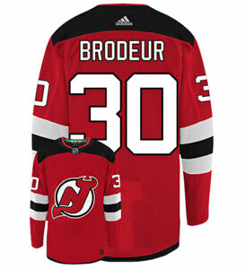 Martin-Brodeur-New-Jersey-Devils-Adidas-Authentic-Home-NHL-Vintage-Hockey-Jersey