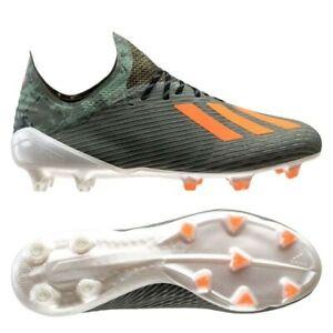 Details about adidas X 19.1 FG/AG Encryption Legion Green/Solar Orange  Soccer Men US 10.5 BNIB