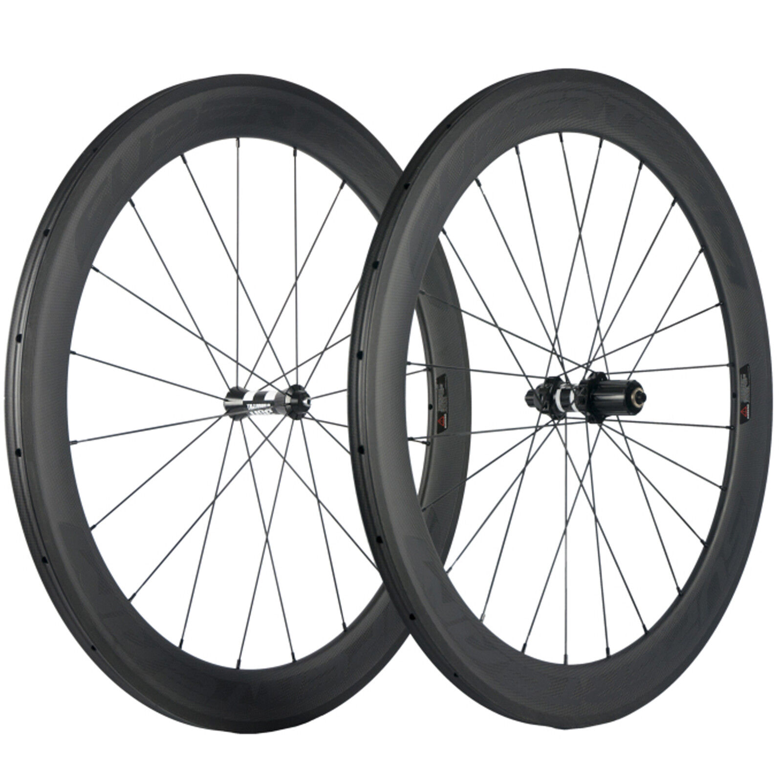 Superteam 60mm Depth Carbon Wheelset  Tubular Clincher DT350 Hub Road Bike Wheels  factory outlets
