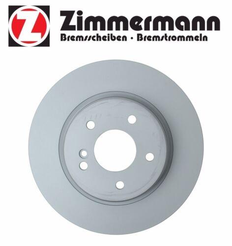 For Mercedes C32 AMG CLK550 R171 W203 Rear Vented Disc Brake Rotor Zimmermann