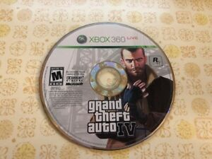 Details about Grand Theft Auto IV < Microsoft Xbox 360, 2008 > - DISC ONLY