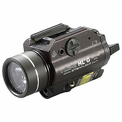 New! Streamlight TLR-2 HL G with White LED and Green Laser Model: 69265