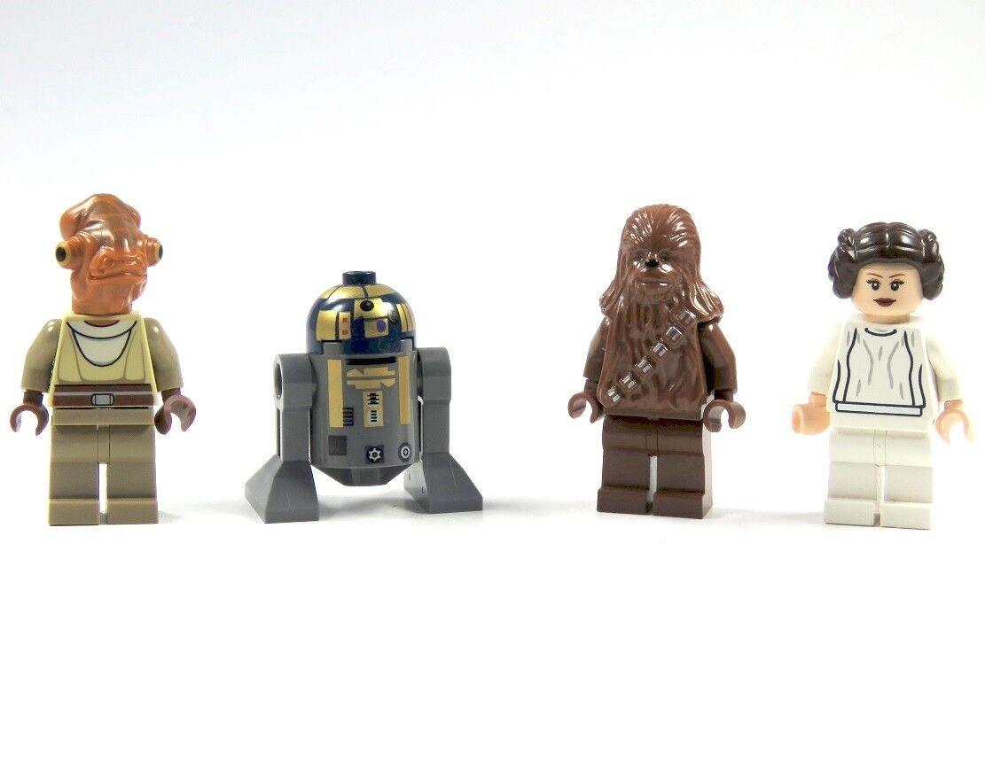 Lego Star Wars™ 4 Figuren R8-b7 Droid Principessa Leia Chewbacca Nahdarr