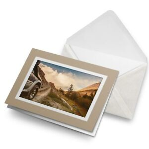 Greetings-Card-Biege-Cool-Off-Road-Adventure-Vehicle-Car-8669