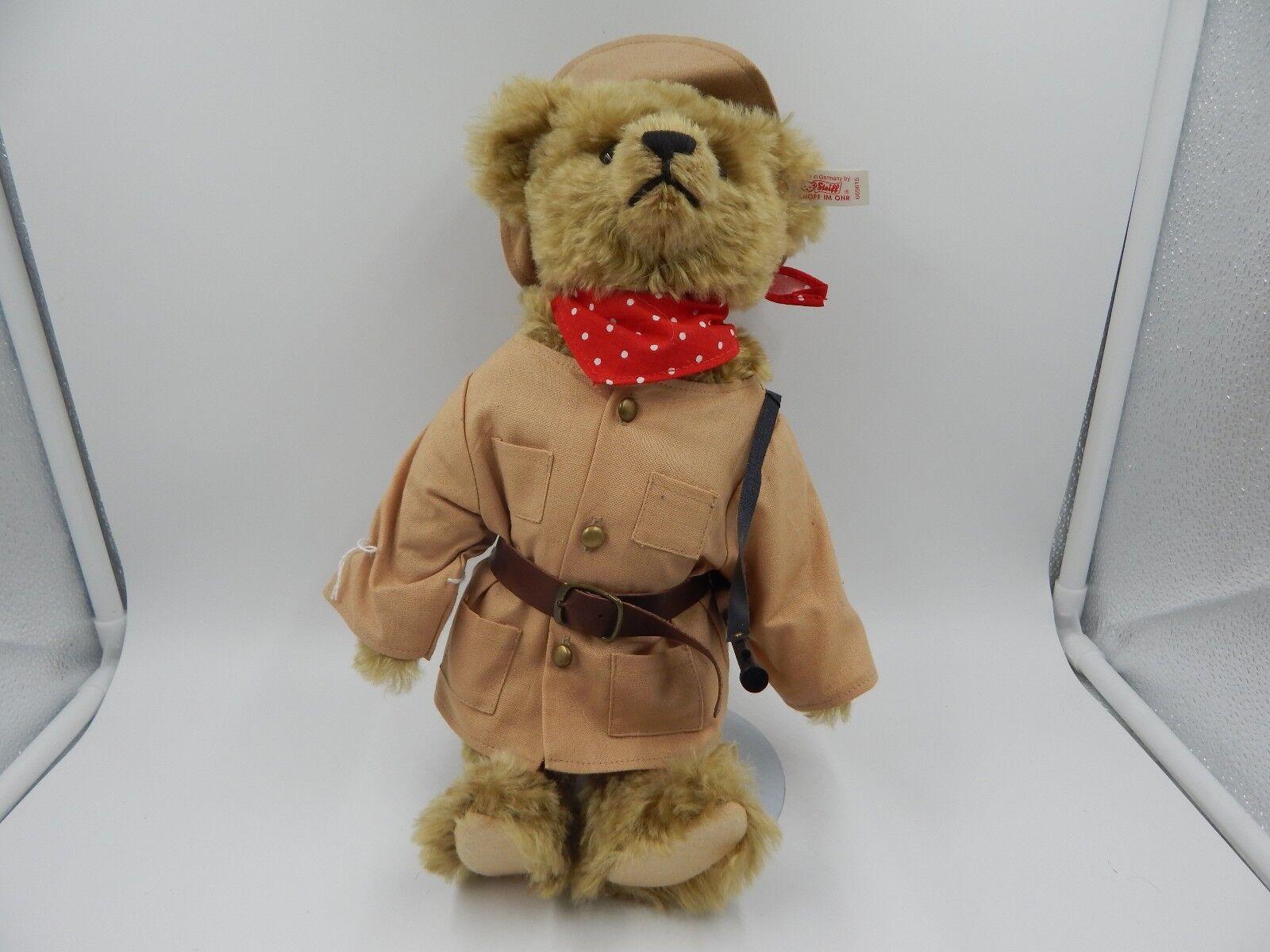 Steiff Teddy Roosevelt Teddy Bear Limited Edition 12