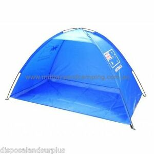Image is loading New-Beach-Tent-Sun-Shelter-UV-50-Beach-  sc 1 st  eBay & New Beach Tent Sun Shelter UV 50+ Beach Dome Tent Aussie Flag | eBay