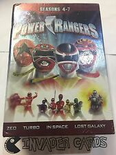 Power Rangers Limited Collection Seasons Series 4-7 DVD 21 Disc Box Set US R1