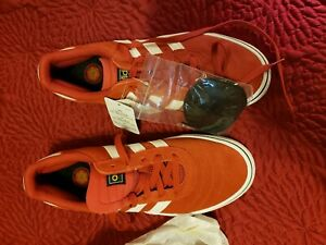 Details about Cool Adidas Skateboarding Shoes Orange Mens Off The Wall Punk Rock Size 10 new