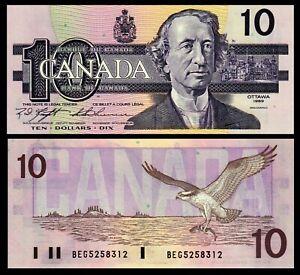 Canada-1989-10-DOLLARS-BEG-5258312-P-57c-Knight-Thiessen-Gem-UNC