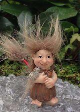 Miniature Hairy Trolls Fairy Garden Family Home Decoration Figurine Gift Set