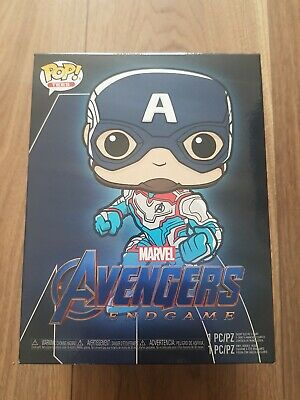-FUN36676 Captain America US Exclusive Pop RS Avengers 4: Endgame Vinyl