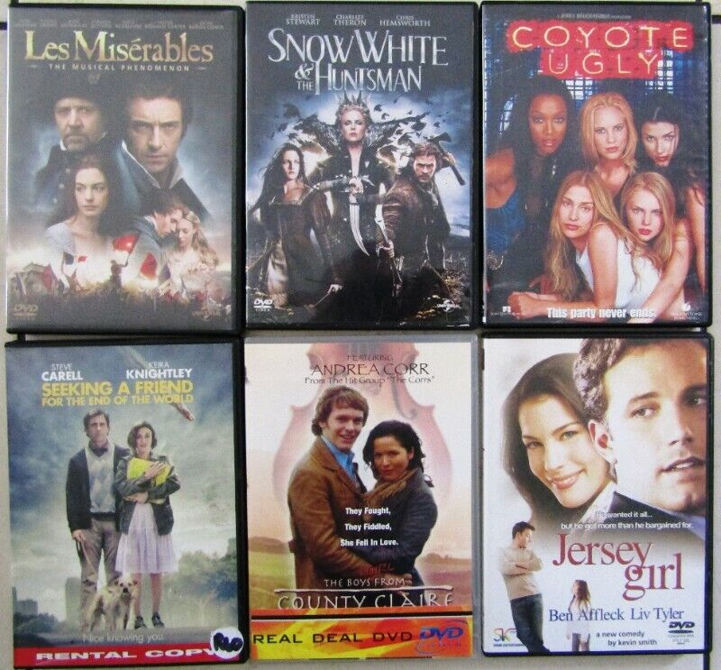 Assorted Contemporary - 6 DVD's in total