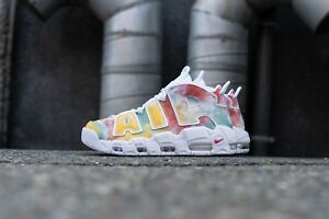 ac36ecadb1 2018 Nike Air More Uptempo Retro QS UK Multicolor Size 15. AV3809 ...