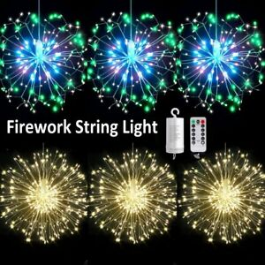 Hanging-Firework-LED-Fairy-String-Light-8Modes-Remote-Christmas-Party-Xmas-Decor