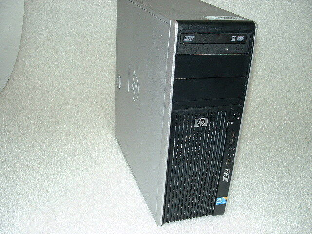 HP Z400 Workstation Xeon W3550 3 06ghz Quad Core 8gb 1TB Q600 Win10 Pro