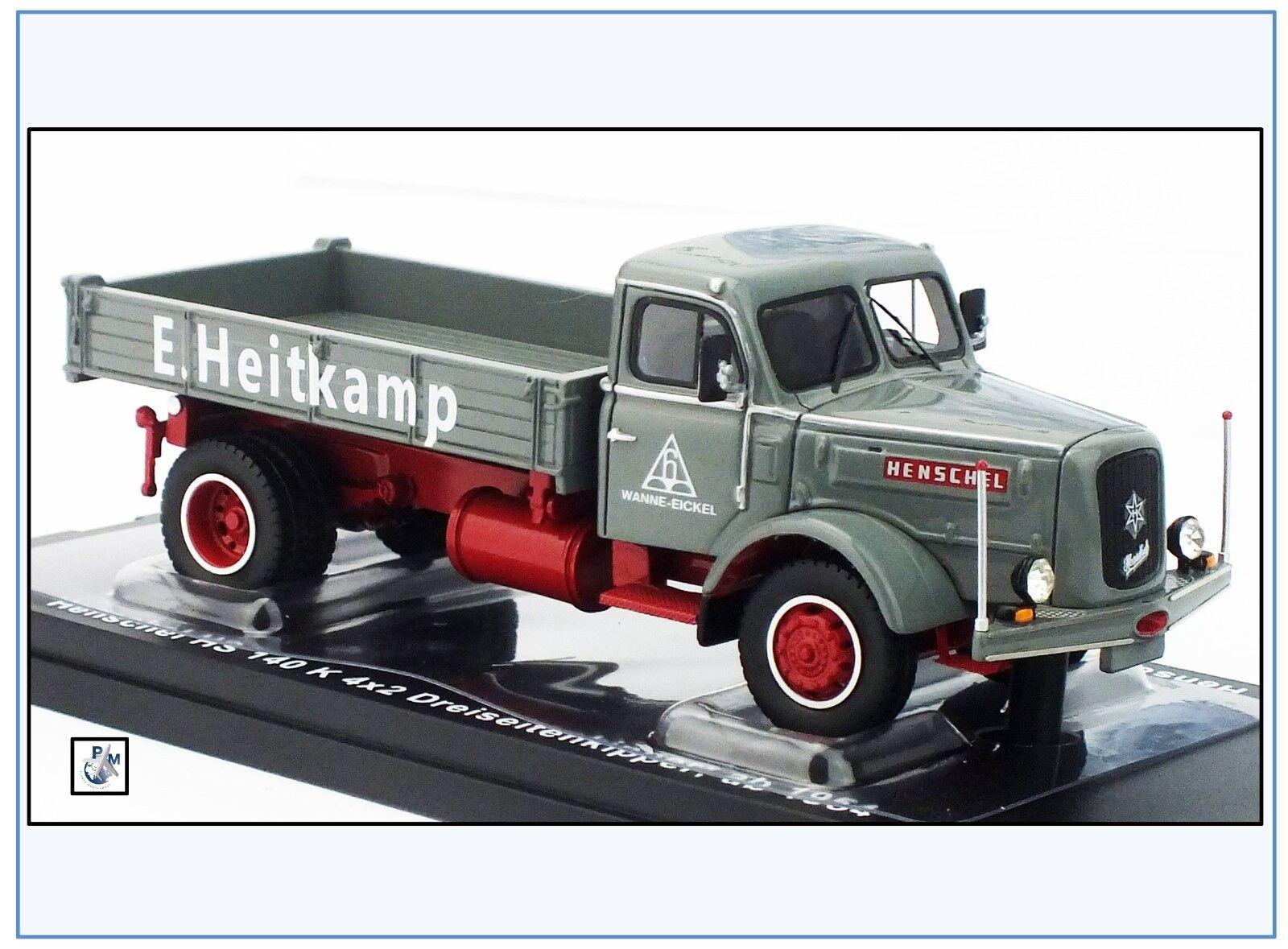 Henschel hs140 K dreiseiten benne,  Heitkamp , oren Oldies 1 50, nouveauté 3 2018