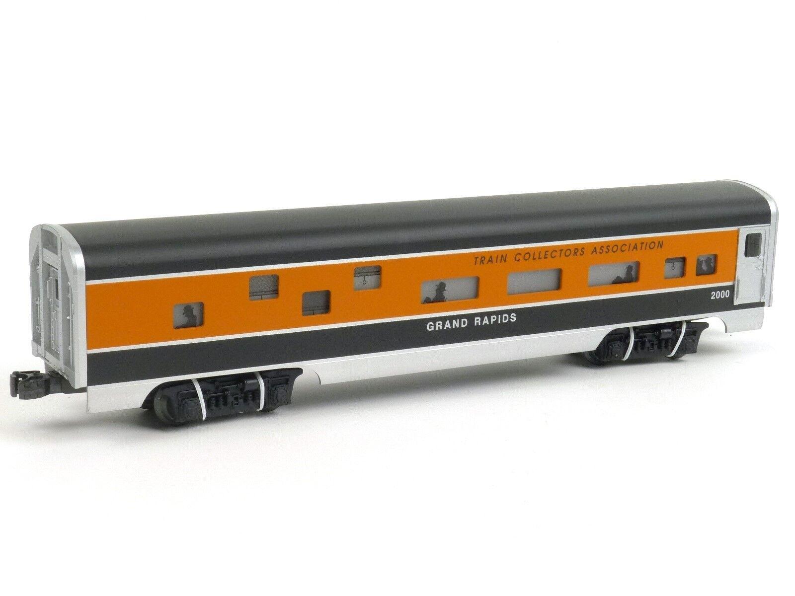 Lionel 652191 TCA GRe Rapids tuttiUMINIO AUTOVETTURA O Gauge modellolo Treni