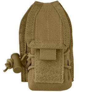 Condor Tactical Patrol HHR Radio GPS Pouch MOLLE Airsoft Pocket Coyote Brown