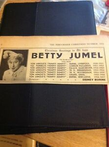 L1-2-Ephemera-1956-Advert-Variety-Artist-Betty-Jumel