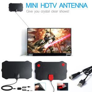 1080P Antenna TV Interna Amplificata Potente Digitale HDTV per DTT DVB-T/DVB-T2
