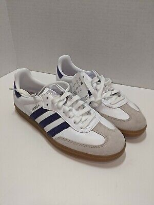 adidas SAMBA OG SHOES EE5452 Cloud White Collegiate Purple size 12 US Men's | eBay