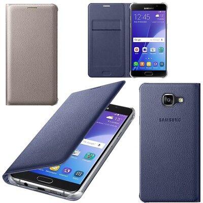 new styles d2dea f48fc Genuine Samsung FLIP COVER GALAXY A5 6 2016 smart phone cover original sm  a510 f | eBay