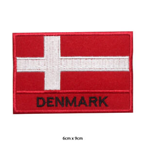 Denmark-National-Flag-Embroidered-Patch-Iron-on-Sew-On-Badge-For-Clothes-Bag-etc