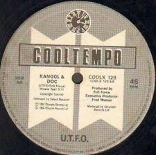 U.T.F.O. - We Work Hard / Kangol And Doc - Cooltempo