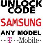 T-Mobile US SAMSUNG Factory Unlock Service Code Premium