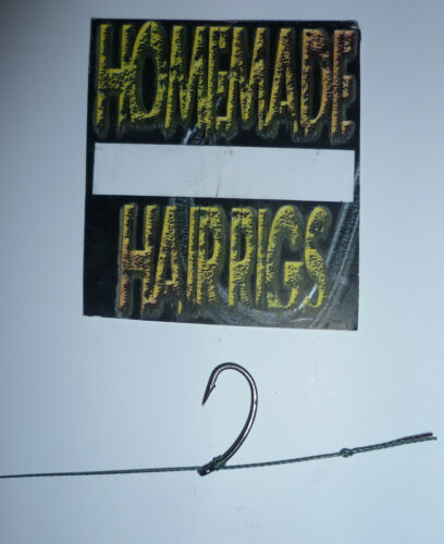5 CARP KD HAIR RIGS TOP OF THE RANGE PTFE COATEDHOOKS VARIOUS SIZES,CARP FISHING