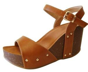 bf1f629d608 Cambridge Select Women s Single Band Buckled Ankle Strap Open Toe ...