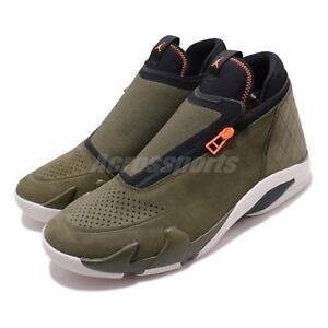 Zipper Men Canvas Jordan Z Shoe Jumpman Sneaker Nike 300 Basketball Olive Aq9119 YBxq7q6