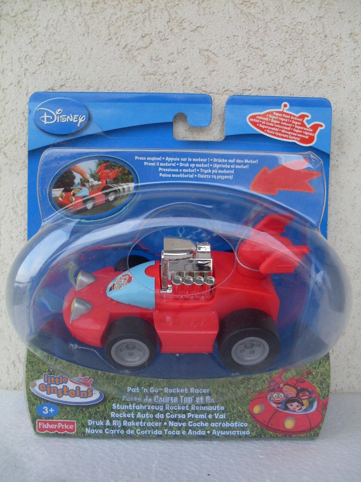 Pat'n go rocket racer little einsteins auto corsa premi vai car toy N7770 N3676