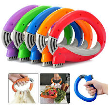 Shopping Grocery Bag Holder Handle Carrier Lock Labor Kitchen Gadgets Tool Cool