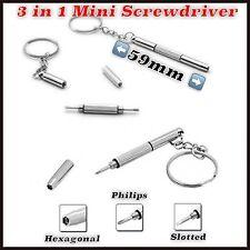 3 in 1 Schraubendreher Schraubenzieher Dreher Uhrmacherwerkzeug für Uhren Handy